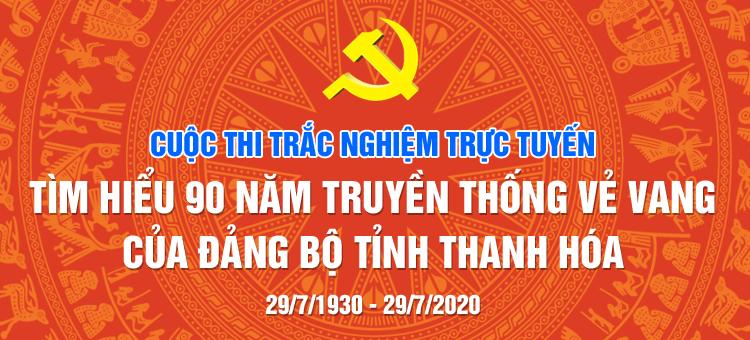 90 năm đảng độ tỉnh Thanh Hóa