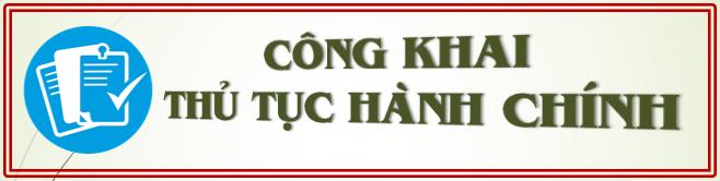 TTHC Công khai