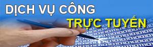 Dịch vụ công trực tuyến